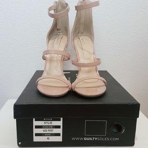 Guilty Soles pink/nude Kylie Shoes Heels Sandals